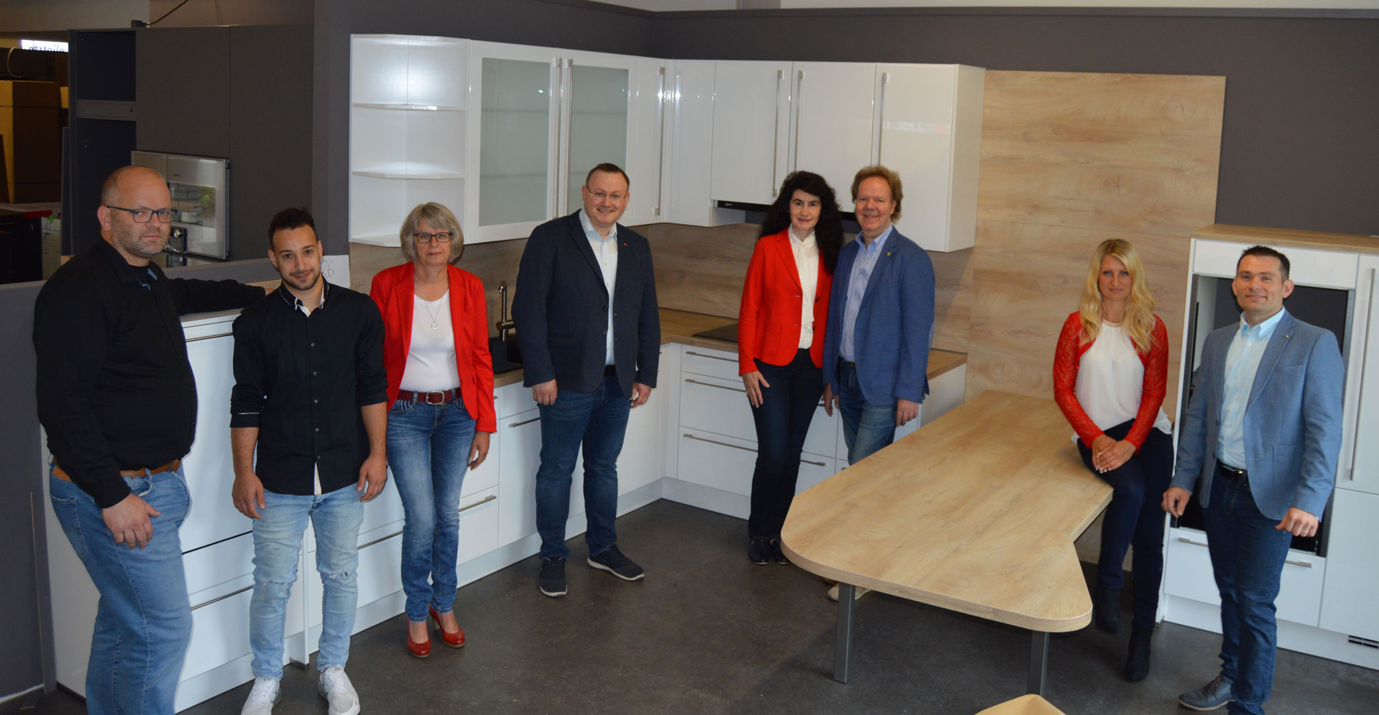 Das Team der Wohn- und Küchenwelt Cloppenburg